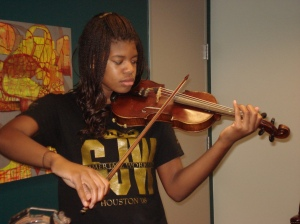 A Violinist and Aspiring Doctor! 15 year old Brianna Dillon