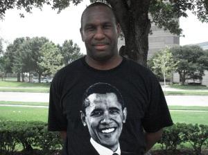 Obama Delegate Roger Harris