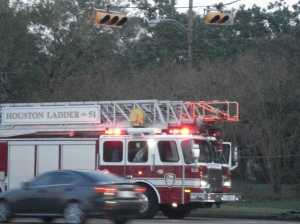 Fire Dept. Called to the Rescue
