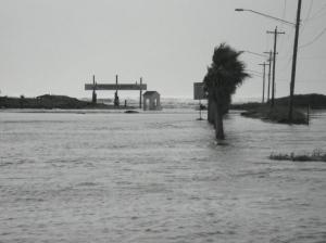 The storm surge pre-hurricane