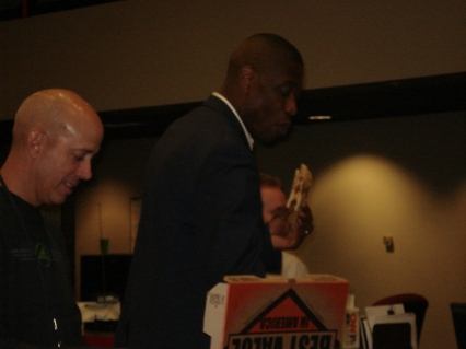 Sports Photographer Allen Reid and Dikembe Mutombo