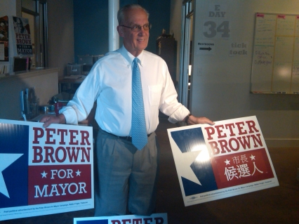 peter brown signs
